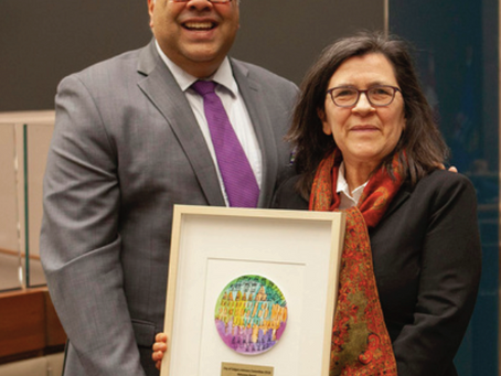 Vice-Provost recognized for working to create a more inclusive campus