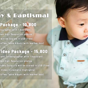 Birthday   Baptism   Kiddie Party   Christening   Oldies Birthday » Affordable Photo & Video Package