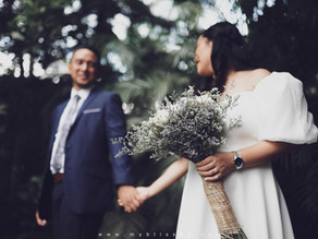 { Mako + Sherm } An Intimate Civil Wedding | Tagaytay Wedding Photo and Video w/ SDE