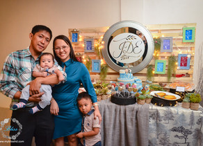 { Joaquin Dominic's Baptism } Mary the Queen Parish & Hanging Garden Events Place