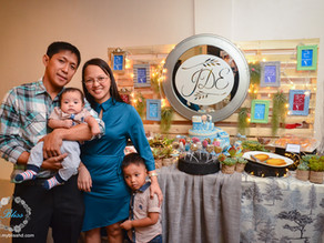 { Joaquin Dominic's Baptism } Mary the Queen Parish & Hanging Garden Events Place | Baptism Photos