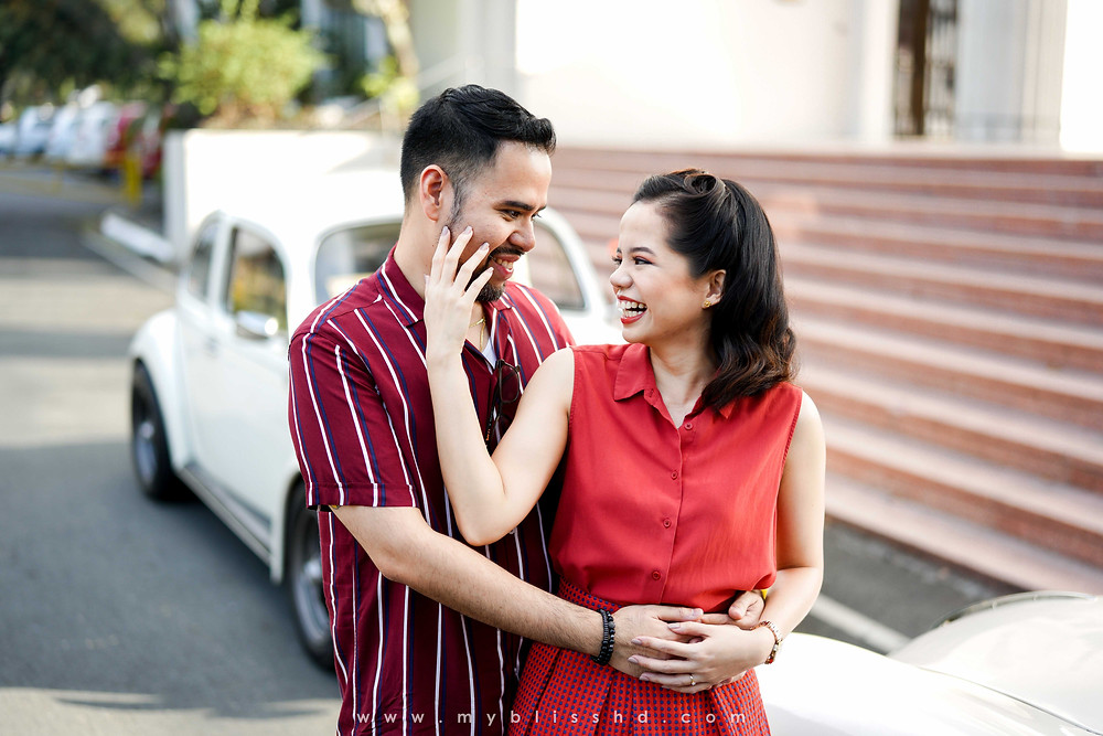 Pre wedding Session at UP Diliman