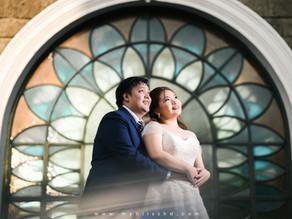Hearts of Jesus and Mary Parish | Felicidad Mansion | Wedding Photos { Luis Manuel & Glenn Marie }