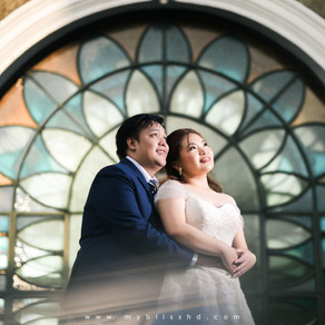 Hearts of Jesus and Mary Parish   Felicidad Mansion   Wedding Photos { Luis Manuel & Glenn Marie }