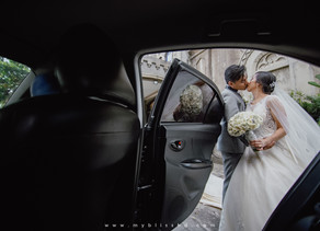{ Rich + May } Our Lady of the Abandoned Parish and Marikina Hotel | Wedding Photo and Video Package