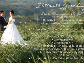 Intimate Wedding | Civil Ceremony | Affordable Event Photo & Video Coverage Package with Live Stream