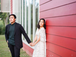 { Mark + Iris } The Old Grove Farmstead Prenup | Batangas Pre Wedding Photography