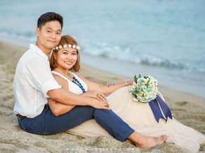 { Charlie + Catherine } Christian Wedding at Acuatico Beach Resort | Batangas Photo & Video Package