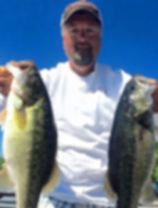 Bass Guide Service Smith Lake Alabama Guide Rex Chambers Spotted Bass