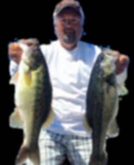 Rex Chambers' Bass Guide Service Alabama Guntersville Spotted Bass
