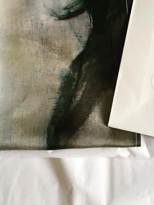 NÄSDUKAR siden tryckta i Italien motiv ur min bildvärld 33 x 33
