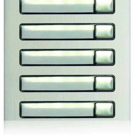 Golmar Nexa single button module N3150/AL - 5 buttons