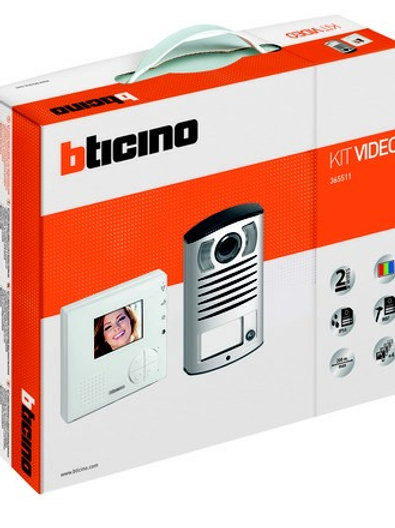 Bticino 365511 2 wire video kit