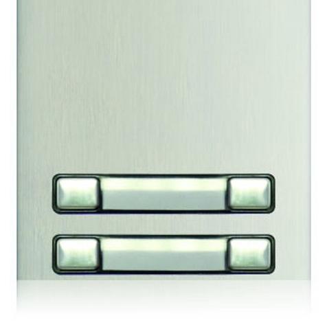 Golmar Nexa Double button module N3240/AL - 4 buttons