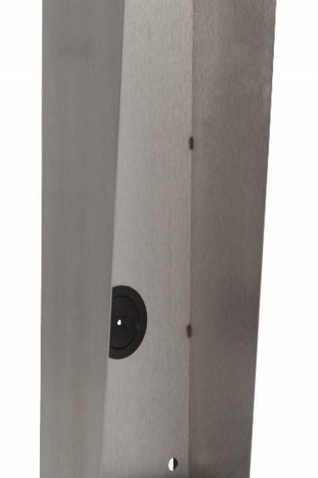 Golmar Surface Nexa Inox Backbox with Rainshield