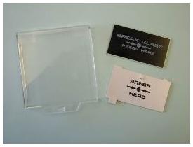 TRADE Break Glass - Deformable Panel - SAM 1F