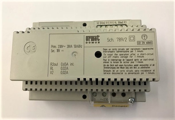 Urmet 789/2 power supply