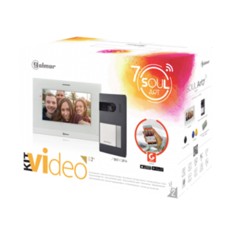 S5110/ART 7W one line video kit with Wifi call forwarding
