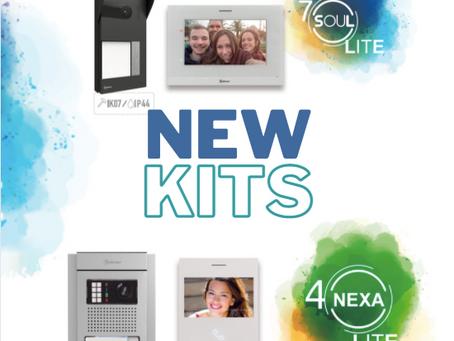 New Golmar LITE Video Kits