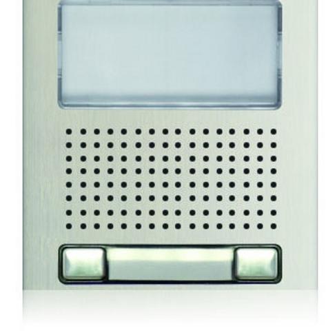 Golmar Nexa audio video grille module N1220/AL - 2 buttons