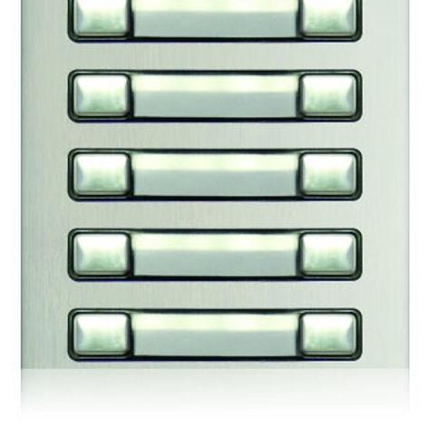 Golmar Nexa Double button module N3210/AL - 10 buttons