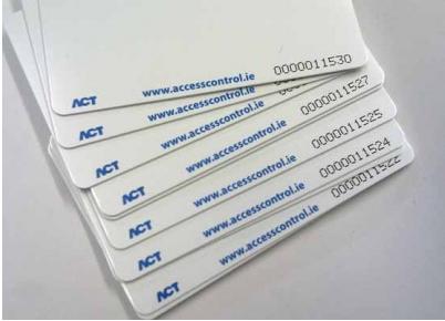 ACT Prox ISO-B Proximity Card