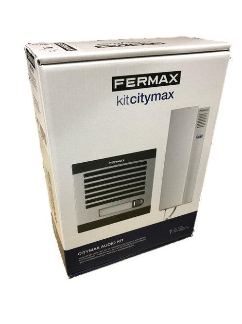 Fermax CITYMAX audio kits - flush