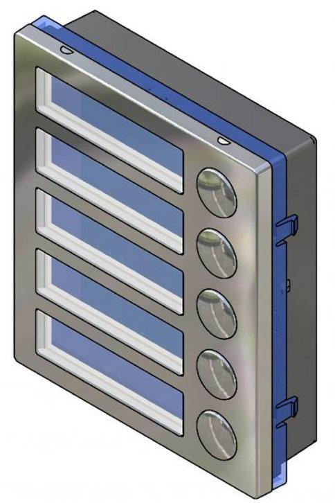 Videx 4845 5 Button Module