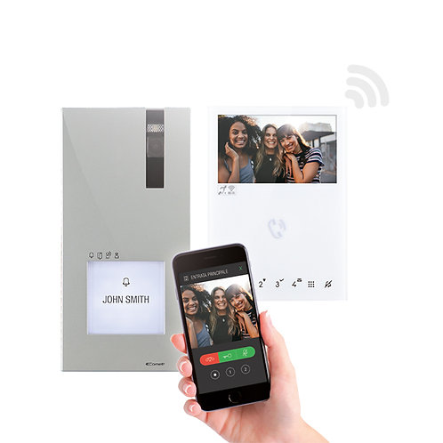 Comelit Quadra Video Kit with WiFi