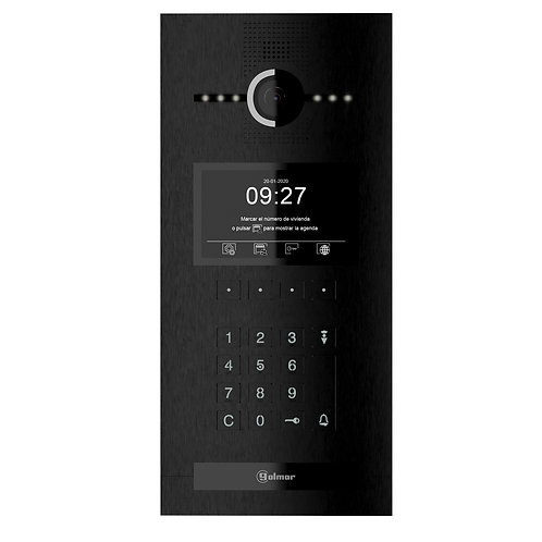 6502/G+ BLACK coded panel
