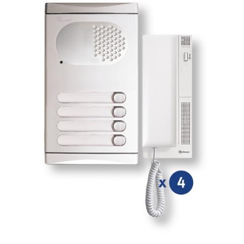 4140/AL four ways audio kit
