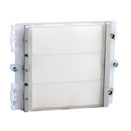 Comelit IKALL pushbutton modules - three