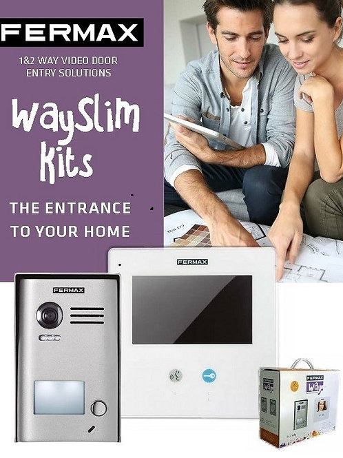 Fermax WAY slim Kit 1421 - 1 way system