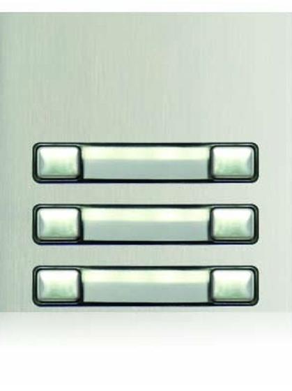 Golmar Nexa Double button module N3260/AL - 6 buttons