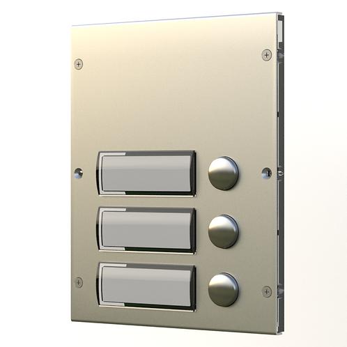 Videx 8843 3 button Module