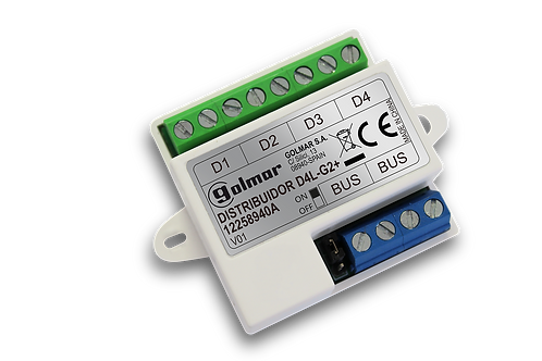 Golmar D4L-G2+ Video Distributor