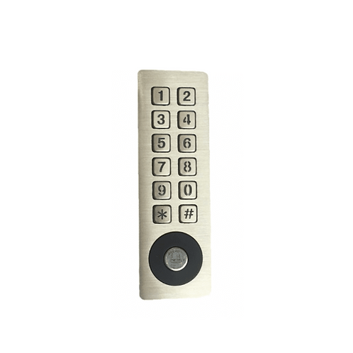 Keypad With Proximity Access And Door Bell