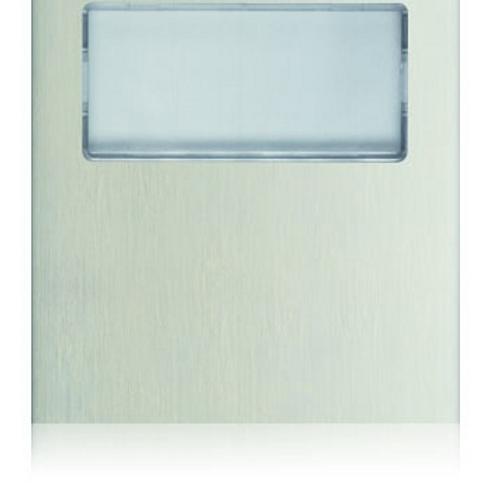 Golmar Nexa blank module with window N3001/AL