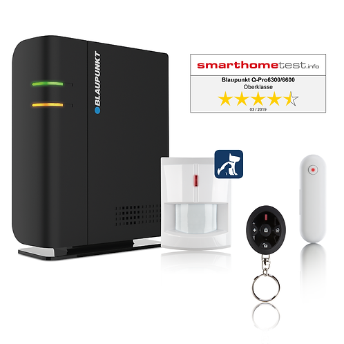 Blaupunkt Q-Pro 6300 Home Alarm Kit