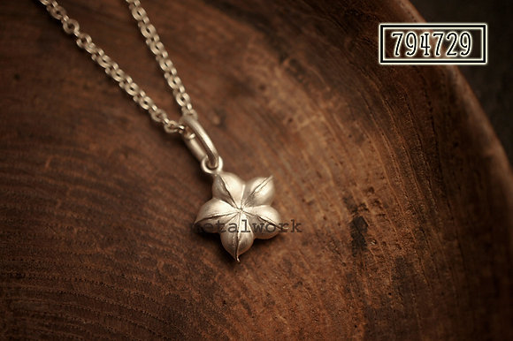 MW P1092 The 925 Silver Nutty Pendant