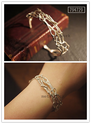 MW B1014 The 925 Silver Branch Bangle
