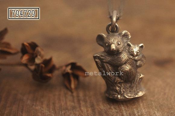 MW P1100 The 925 Silver Koala Pendant