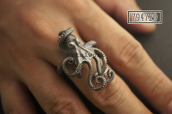 MW R1036 The 925 Silver Marine Ring