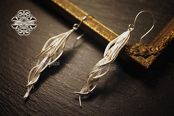 MW E1033 The 925 Silver Rosemary Earrings