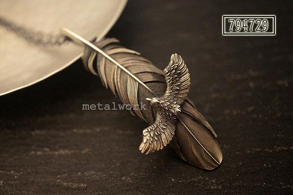 MW P1136 The Ma'at & Eagle Pendant (Small)