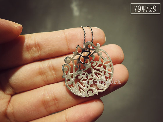 The Zentangle Necklace Set (SPT018)