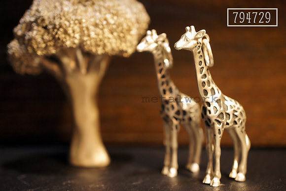 MW P1070 The 925 Silver Giraffe Pendant