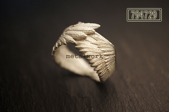 MW R1028 The 925 Silver Guardian Angel Ring (Double)