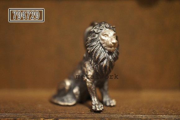 MW P1121 The 925 Silver Lion King Pendant