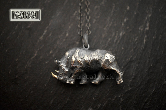 MW P1138 The Rhino Pendant